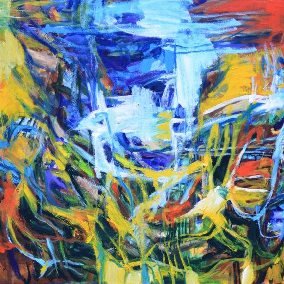 E1 -114 x 146(2016) - François Felten - Ruth Gallery - Galerie d'Art Luxembourg - Art Gallery Luxembourg