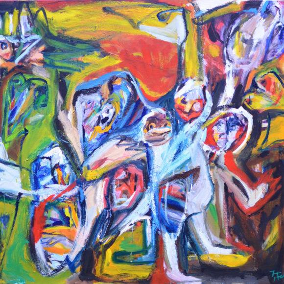E10 -120 x 140(2004) - François Felten - Ruth Gallery - Galerie d'Art Luxembourg - Art Gallery Luxembourg