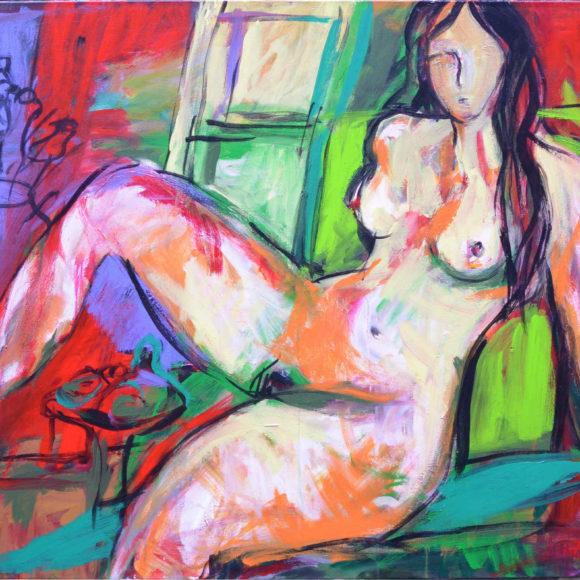N14 -100 x 120 (2013) - François Felten - Ruth Gallery - Galerie d'Art Luxembourg - Art Gallery Luxembourg