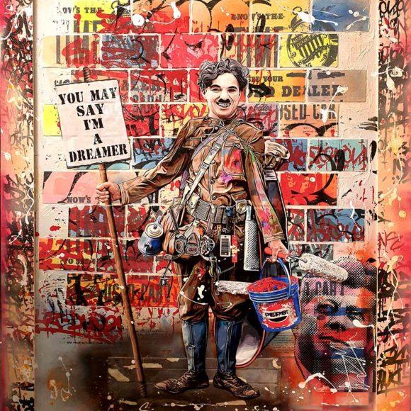 The Dreamer - 150 x 120 cm - Michael Waizman - Art Gallery Luxembourg