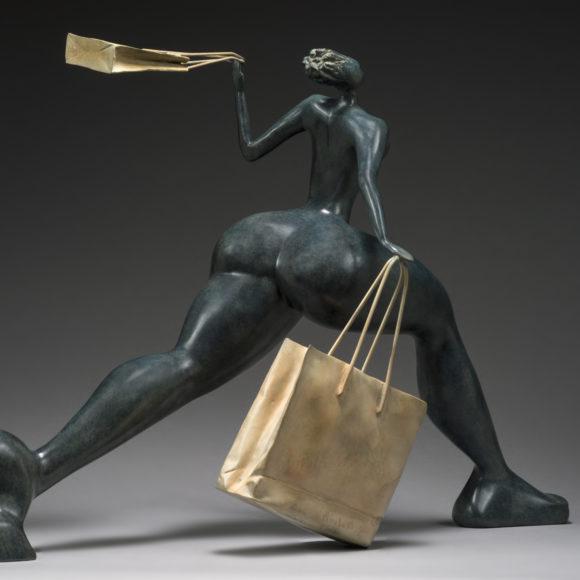 Big Frivole - bronze - Ruth Gallery Luxembourg - Françoise Abraham