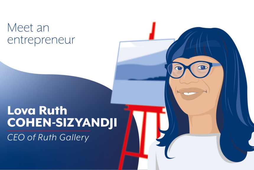 Ruth Gallery, a trendy art gallery