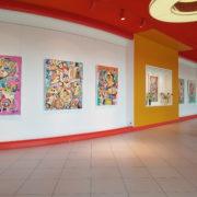 Artistes exposés à la galerie