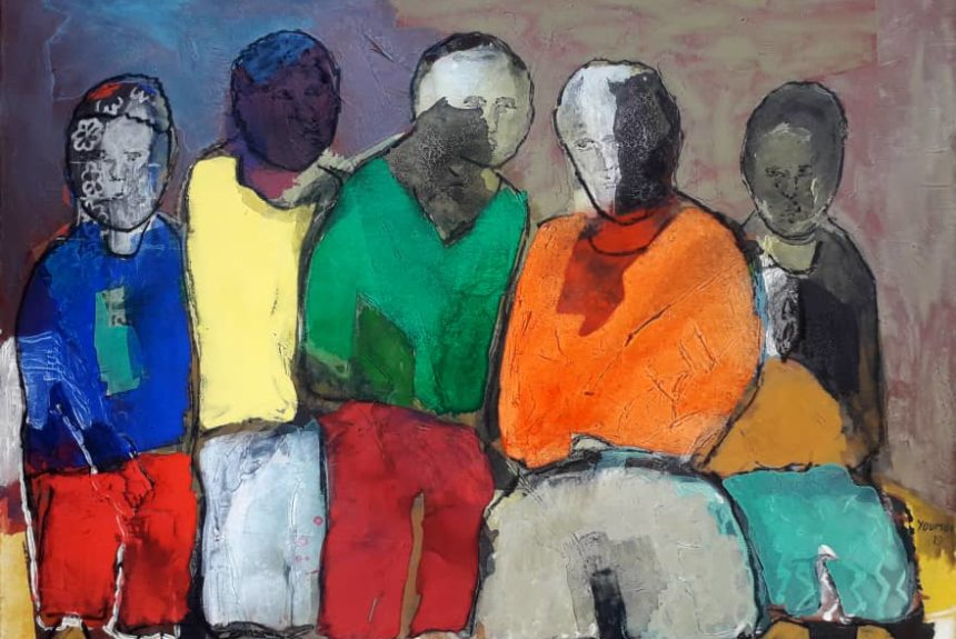 Adolescents- Emile Youmbi - Ruth Gallery Luxembourg